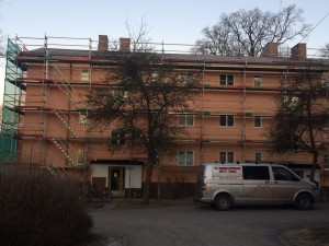 Komplett takläggning Brf i Södertälje